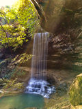 Northrup Falls, Tennessee. Waterfall in Tennessee. Northrup Falls Stock Photos