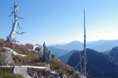 Northshore mountains royalty free stock photos