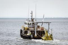Northstar Kommandant, der Wind Axys WindSentinel überwacht System schleppt stockbilder