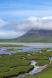 Northton saltings on Isle of Harris Stock Image