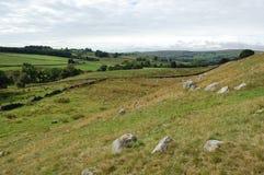Northumberland-Abhang Lizenzfreies Stockfoto