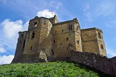 Northumberland Castle Royalty Free Stock Photo