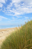 Northumberland kustlijn Stock Foto's