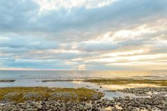 Northumberland shore near the Confederation Bridge Royalty Free Stock Photography