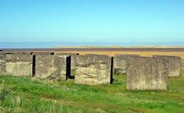 Northumberland van de tankdefensie Engeland stock afbeelding