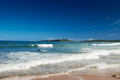 Northumberland-Wassersport Stockfoto