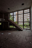 Northville Psychiatric Hospital - Northville, Michigan. Inside the abandoned Northville Psychiatric Hospital in Northville, Michigan Royalty Free Stock Photography