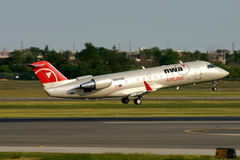 Northwest Airlink CRJ200 Royalty Free Stock Photos