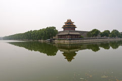 Northwest Corner Tower of Forbidden City, Beijing Stock Images