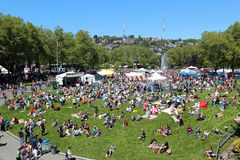 Northwest Folklife Festival Stock Photos