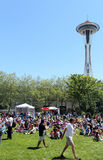 Northwest Folklife Festival Stock Photography