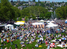 Northwest Folklife Festival Stock Image