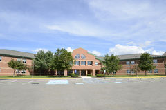 Northwest Lehigh Highschool i nya Tripoli, Pennsy Royaltyfria Bilder