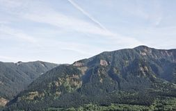 northwest oregon för columbia klyfta Stillahavs- flod Arkivbilder