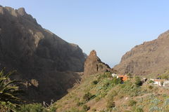 Northwest of Tenerife and the beautiful view of Masca Stock Photo