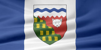 Northwest Territories Flag. Very large version of a Northwest Territories Flag Royalty Free Stock Photography