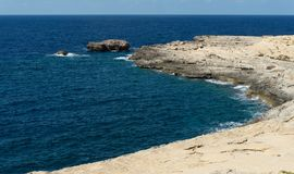 Coast of the island of Gozo Malta Stock Image