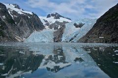 Northwestern Glacier. In Kenai Fjords National Park Alaska Stock Image