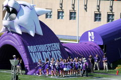 Northwestern Wildcats football Stock Images