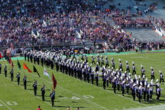 Northwestern Wildcats football band Royalty Free Stock Photo