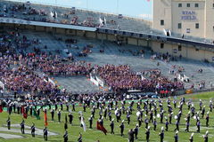 Northwestern Wildcats football band Stock Photography