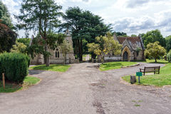 Northwood Cemetery. Cowes - Isle of Wight Royalty Free Stock Photo