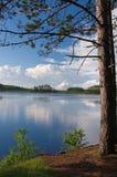 northwoods озера стоковые изображения