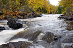 Northwoods Falls Royalty Free Stock Images