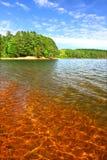 northwoods jasne wody Wisconsin Obrazy Royalty Free