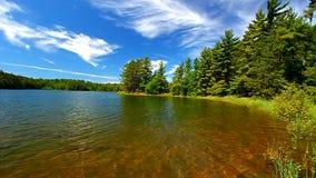 northwoods jasne wody Wisconsin zbiory wideo