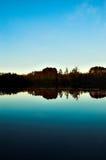 Northwoods Lake. Reflection of a Northwoods Lake royalty free stock images