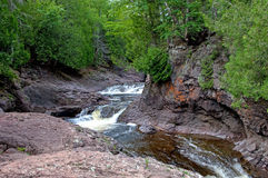 Northwoods Stream Royalty Free Stock Image