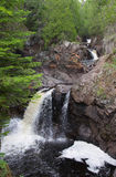 Northwoods Waterfalls Royalty Free Stock Photo