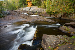 Northwoods Waterfalls Royalty Free Stock Photos