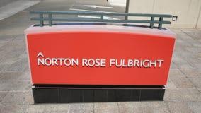 Norton розовое Fulbright Стоковые Изображения