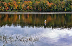 Norton Pond in Lincolnville, Maine Royalty Free Stock Photo