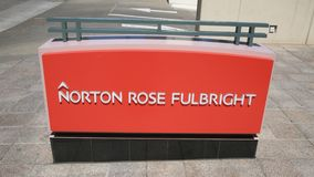 Norton Rose Fulbright Obrazy Stock
