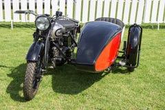 Norton Sidecar Стоковые Фотографии RF