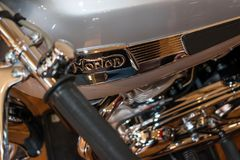 1965 Norton 650 SS Solo Royalty Free Stock Image