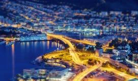 Noruega Bergen foto de archivo