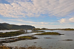 Noruega del norte 29 Imágenes de archivo libres de regalías