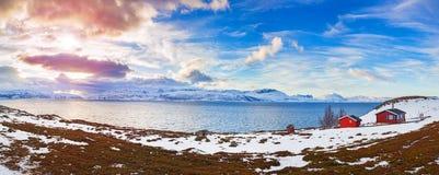 noruega Invierno Imagen de archivo