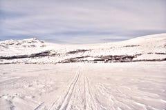 Noruega no inverno imagens de stock