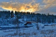 Noruega no inverno foto de stock royalty free