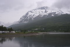 noruega Paisagem do norte Imagens de Stock Royalty Free