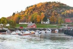 noruega Paisagem litoral de Hasselvika imagem de stock