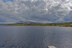 noruega Paisajes magn?ficos del verano en Noruega fotos de archivo