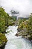 Noruega - parque nacional de Jostedalsbreen - natureza Fotografia de Stock Royalty Free