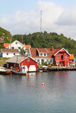Noruega - puerto pesquero Imágenes de archivo libres de regalías