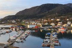 Noruega septentrional foto de archivo libre de regalías